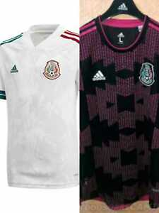 MEN'S MEXICO 20 21 SOCCER INTERNATIONAL JERSEY NAME & NUMBER