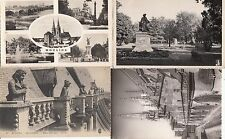 Lot 4 cartes postales anciennes MOULINS