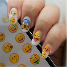Nail Art Water Transfer Decals Manicure Various Expression Design Manicure Tips