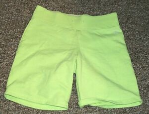 """""""A*"""" JUSTICE size 8 youth shorts soft YELLOW"""