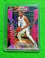 PJ WASHINGTON JR PRIZM PINK PULSAR ROOKIE CARD KENTUCKY 2019 PRIZM DRAFT PICKS