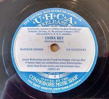 MCKENZIE-CONDON CHICAGOANS on UHCA 9, 10 - China Boy - Pre-War Chicago Hot Jazz