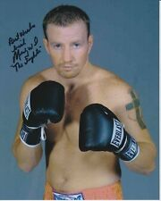 MICKY THE FIGHTER WARD Signed EVERLAST BOXING Photo w/ Hologram COA