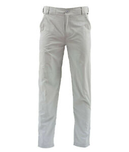 Simms Superlight Pant - Sterling- Medium Short - Sale & Free US Shipping