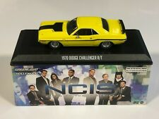 Ncis 1970 Dodge Challenger R/t Jaune 1 43 Echelle Greenlight 86579