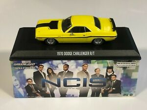 GREENLIGHT 86579 Dodge Challenger R/T 1970 NCIS TV Series 1/43 Voiture Miniature