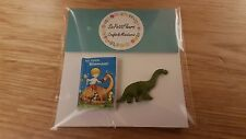 My Little Dinosaur book and toy 1:12th scale dolls house modern toy shop DH23