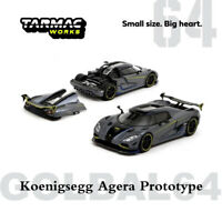 Tarmac Works TW 1:64 Koenigsegg AGERA PROTOTYPE Diecast Car Model Collectibles