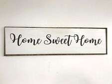 Home Sweet Home sign Extra Large 4 feet sofa size wall decor fixer upper diy