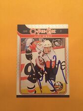 Mark Streit Signed New York Islanders Card B