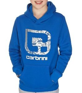 Carbrini Kids Blue/Silver Aztex O/H Hoodie