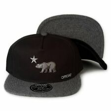 254587b8987 OFFICIAL Crown Of Laurel DOLO ICED CALI Hat Snapback Bear Black Grey Rare