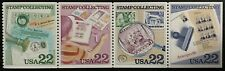 1986 #2198-2201 - 22¢ - STAMP COLLECTING - Booklet Strip of 4 Stamps - Mint NH