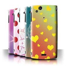 Housses et coques anti-chocs Sony Xperia Arc S pour téléphone mobile et assistant personnel (PDA)