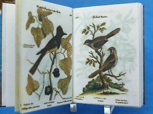 1:12 Scale Book Natural history Images of Rare Birds 1772 Crafted  by ken Blythe