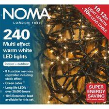 Noma-Multi Efecto Blanco Cálido LED de luces de Navidad - 240