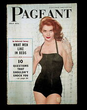 PAGEANT - JULY 1956 - ELVIS, ZERO GRAVITY, FRED MARTIENS, WHAT MEN LIKE IN BED