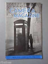 R&L Vintage Mag, The Miniature Camera January 1952, Photavit/Animal Macro