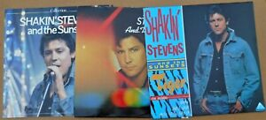 Shakin' Stevens (& The Sunsets) 3 x LP's Tiger, Collection, Stars & Music