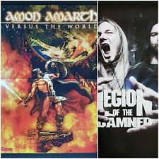 Amon Amarth Versus the World + Legion of the Damned * poster DIN a2