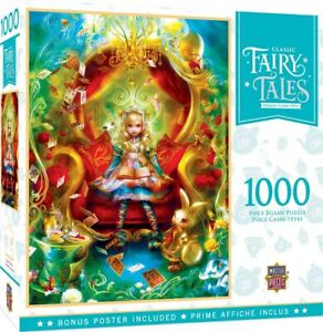 Classic Fairytales Tea Party Time 1000-Piece Jigsaw Puzzle