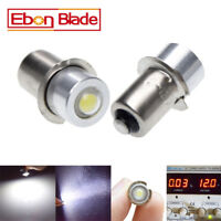 2pcs 1W P13.5S Led Flashlight Replacement bulb 3V 6V 12V 18V Lantern Work Light