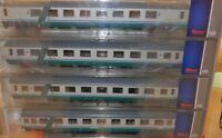 ROCO 64083 Set Gran Confort salone,scompartimento + Eurofima 1a classe, XMPR