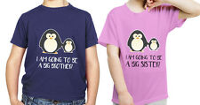 I'M GOING TO BE A BIG BROTHER SISTER PENGUIN Birthday Christmas present Gift