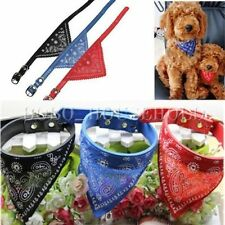 COLLIER BANDANA ROUGE  CHAT /CHIEN   31 CM  NEUF