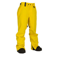 New 2015 Mens Technine Chino Shell Snowboard Pant Large Yellow
