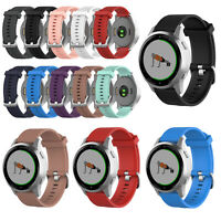 18mm Sport Silicone Replacement Wrist Watch Band Strap for Garmin Vivoactive 4S