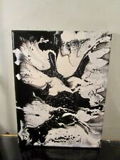 ABSTRACT CANVAS PAINTING BY MUSK YAI 9X12 ONE OF A KIND HAND PAINTED 1