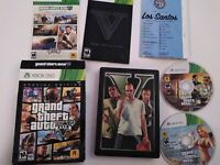 Grand Theft Auto V Special Edition 5 GTA Xbox 360 TESTED Map Complete Collectors