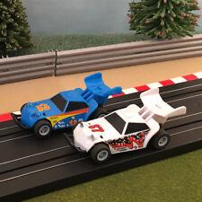 Micro Scalextric Pair Of 1:64 Cars - Beach Dune Buggies