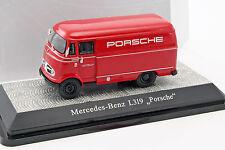 Mercedes-Benz l319 Porsche Renndienst rouge 1:43 PremiumClassiXXs