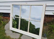 VINTAGE SASH ANTIQUE WOOD WINDOW FRAME PINTEREST WEDDING MIRRORS 36X28