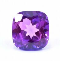 9.55 Ct Natural Faceted Pink Purple Taaffeite Loose Cushion Gemstone Certified