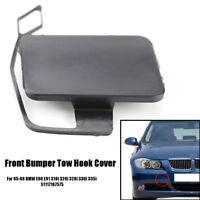 Front Bumper Tow Hook Eye Cap Cover 51117167575 For 05-08 BMW E90 E91 318i 320i