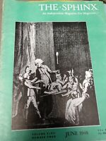 Tent Show Trickery Tommy Winsdor Issue 1948 Sphinx Magazine Vol.47 No.4
