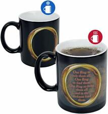 OFFICIAL LORD OF THE RINGS HEAT CHANGING MAGIC COFFEE MUG CUP NEW IN GIFT BOX