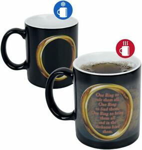 OFFICIAL LORD OF THE RINGS HEAT CHANGING MAGIC COFFEE MUG CUP NEW IN GIFT BOX GB