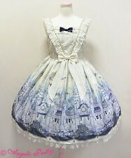 Angelic Pretty Castle Mirage Cream JSK NWT + Angelic Pretty Store Bag