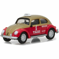 CLASSIC VOLKSWAGEN BEETLE MEXICO CITY TAXI 1/64 DIECAST MODEL GREENLIGHT 29890 F