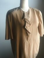 Vintage Giorgio Armani Made in Italy Silk Top