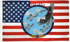 """New listing """"Wings Over America"""" 3x5 ft flag polyester"""