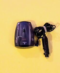 Cobra 360 Laser Radar Detector 9 band Model NO: ESD-8285 W/Car Charger TESTED