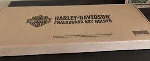 Harley-Davidson Barn Wood Chalkboard Key holder
