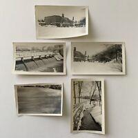 Antique/Vintage Photograph Snapshot Bakers Chocolate Factory Dorchester Mass Lot