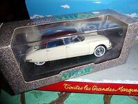VITESSE 1/43 CITROEN DS 19 SALON DE PARIS 1956 WHITE RED ROOF  NEUF EN BOITE