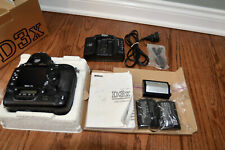 Nikon D3x Digital SLR Camera - Black (Body Only w/EXTRAS) -  60,212 shutter